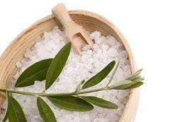 Морская соль укрепляет организм