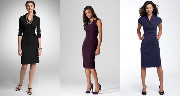 Офисные платья и правила выбора такого платья
