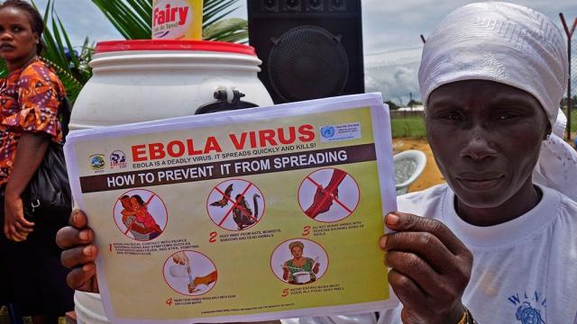 Лихорадку Эбола можно вылечить водой?