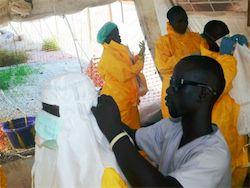У госпитализированного в Казахстане россиянина не нашли Эболу