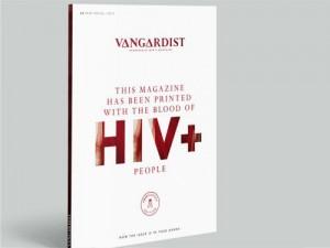 Австрийский журнал напечатал обложку чернилами с ВИЧ-инфицированной кровью