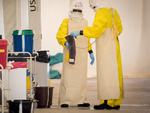 Лихорадка Эбола вновь дала о себе знать жителям Африки