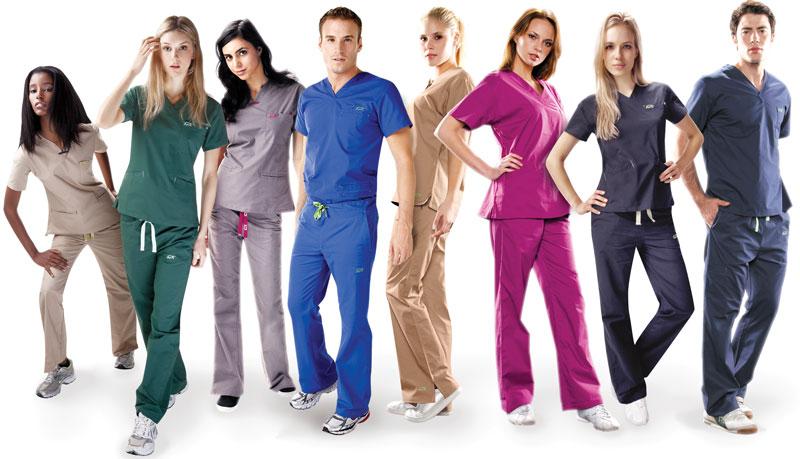 Покупка медицинской одежды
