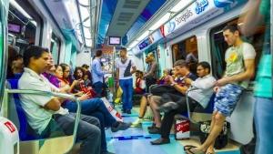 Московское метро подвергнут дезинфекции