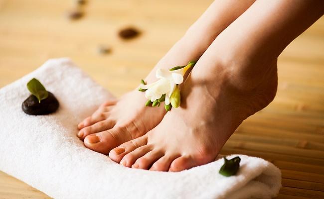 Домашняя спа процедура для ног