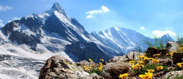 По горам Кавказа