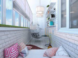 Несколько идей для использования балкона
