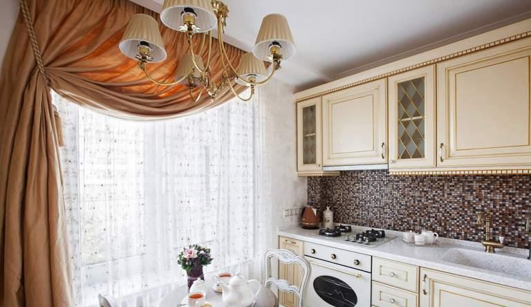 Советы по выбору штор на кухню