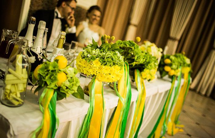 Креативное оформление свадеб
