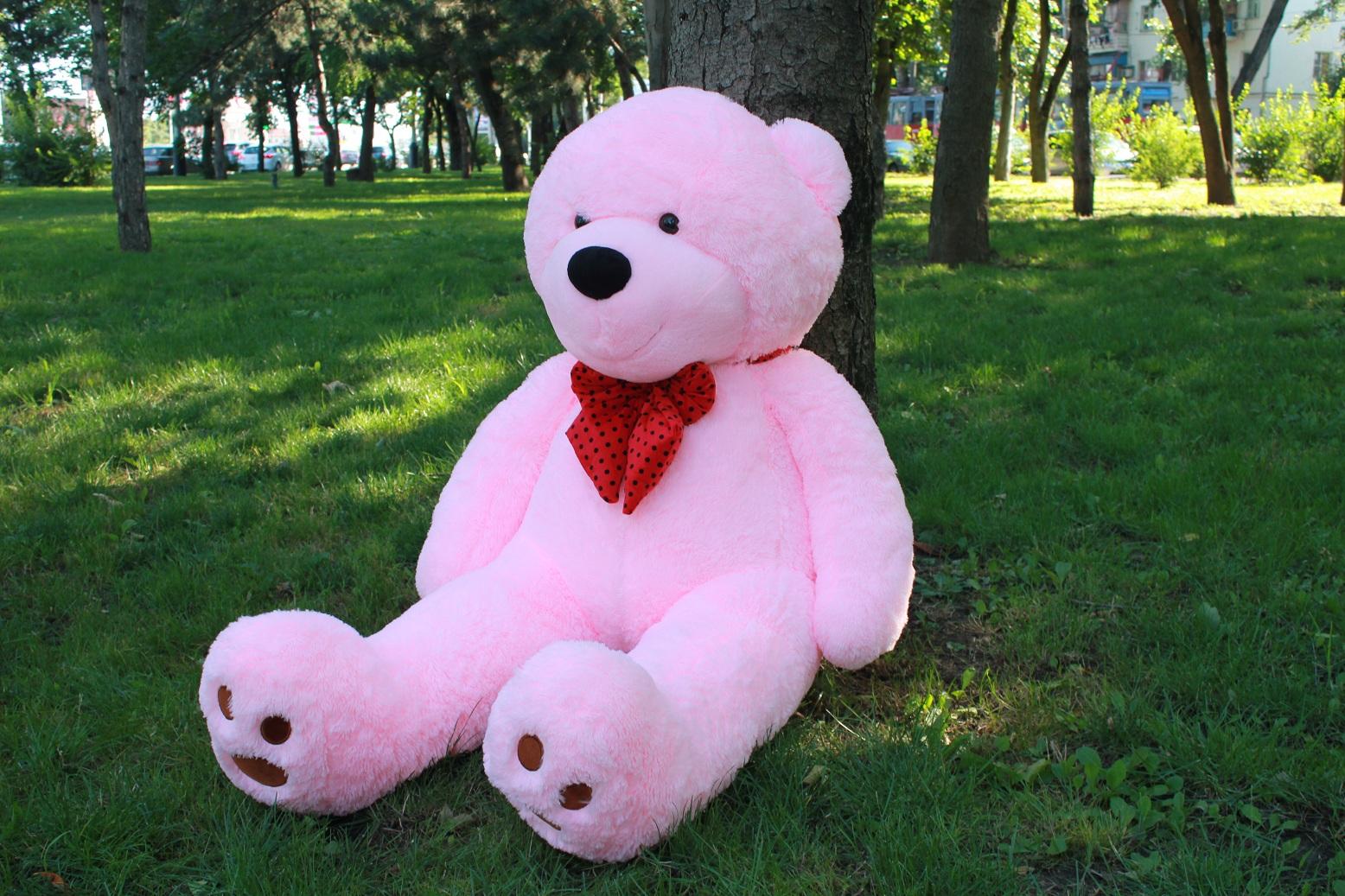 Большие плюшевые медведи: отличный презент для любого торжества