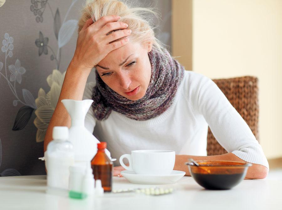 Лечим и простуду и грипп