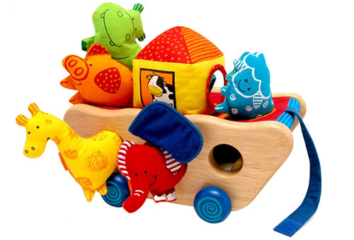 Игрушки-каталки для детей 1-3 лет