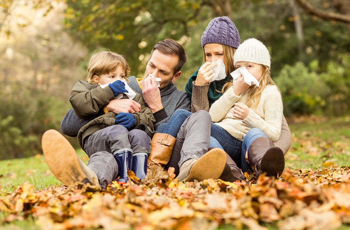 Как уберечься от простуды осенью?