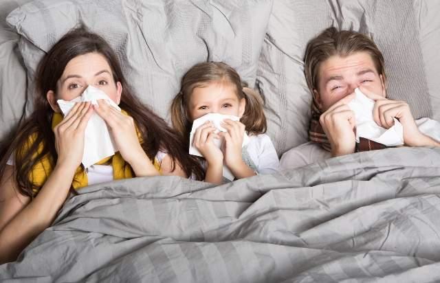Как защититься от гриппа, если кто-то из домочадцев уже заболел