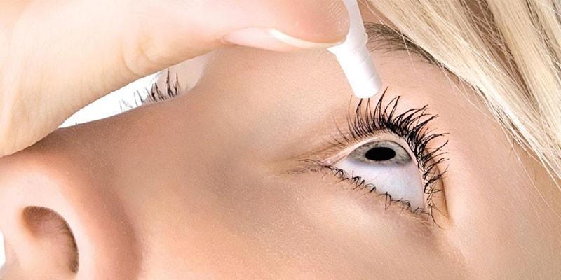 Офтальмологические капли для устранения сухости глаз
