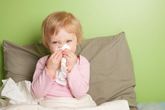 Как уберечь ребёнка от простуды
