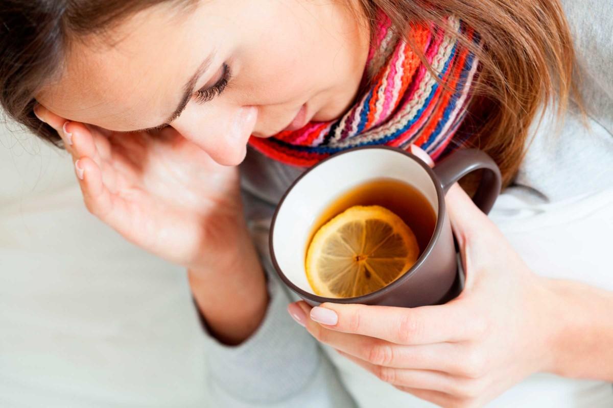 4 действенных рецепта чая при простуде