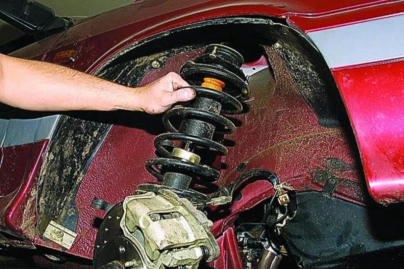 Замена передних и задних стоек, амортизаторов на ваз 2110, 2111, 2112