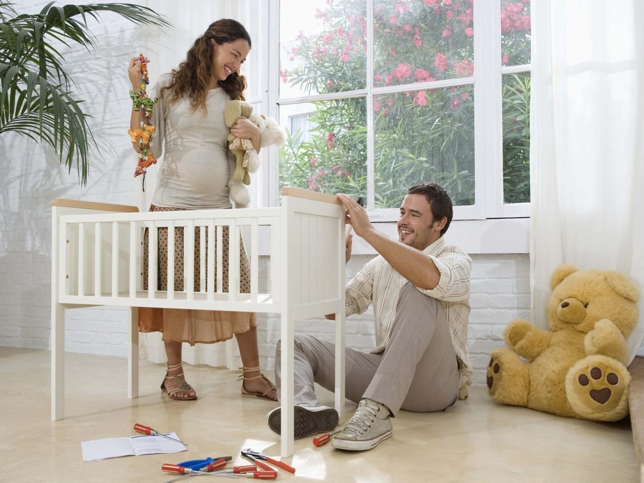 Правила подготовки квартиры к появлению малыша